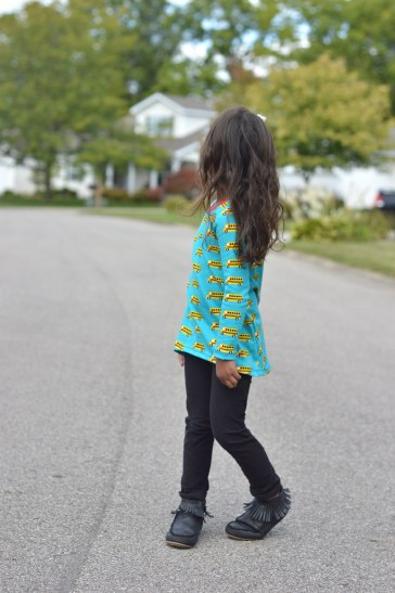School Bus Sunshine Tunic 2